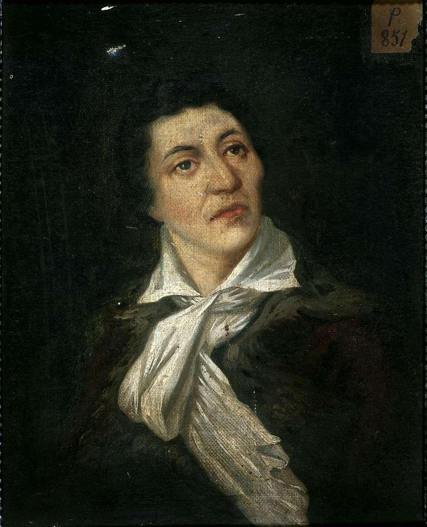 Portrait de Jean-Paul Marat (1743-1793), publiciste et homme politique.