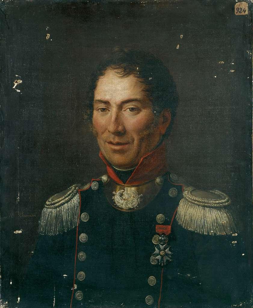 Portrait d'un capitaine de la garde nationale sous la monarchie de Juillet