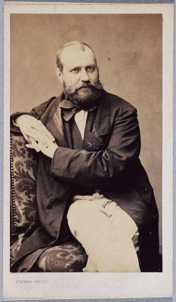 Portrait de Gounod Charles, (1818-1893), (compositeur)