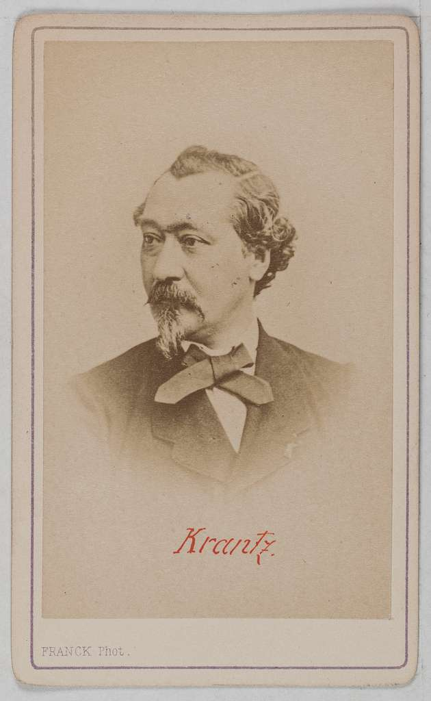Portrait de Jules François Emile Krantz (1817-1899), ingénieur et homme politique.