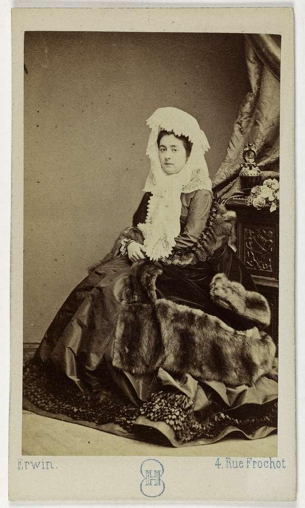 Portrait de Leblanc Léonide, (1842-1894), (actrice)
