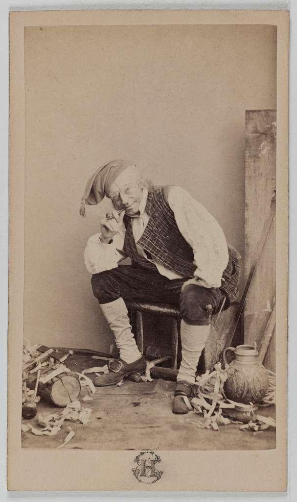 Portrait de Lesueur François Louis, (1823-1876, ép. Anna Chéri), (acteur)