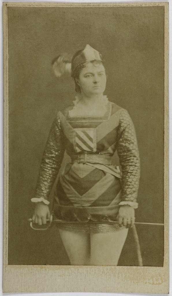 Portrait de Marie Pierson, (actrice)