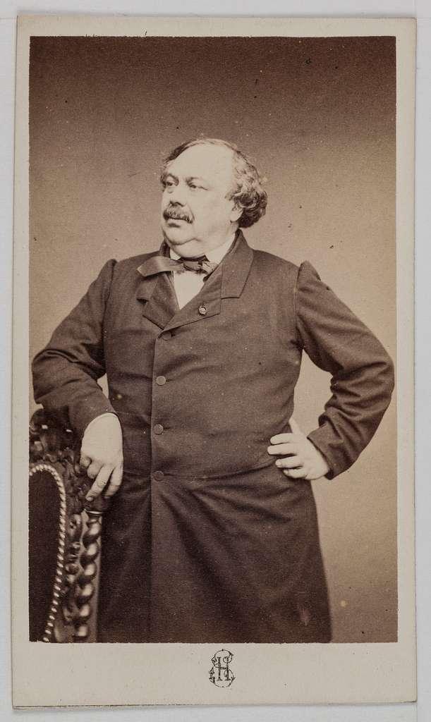 Portrait du baron Charles Gustave Wappers (1803-1874), peintre.